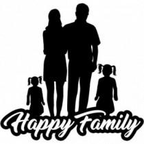 Familien Autoaufkleber BS639