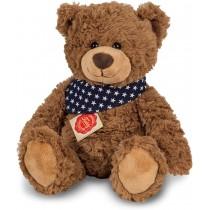 Teddy Hermann Teddy Braun mit Tuch 30 cm