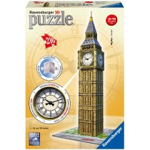 Ravensburger Puzzle 3D Big Ben mit Uhr 216 Teile