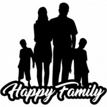Familien Autoaufkleber BS638