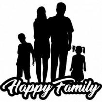 Familien Autoaufkleber BS637