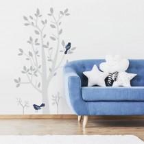 RoomMates Wandsticker Baum mit Vögel