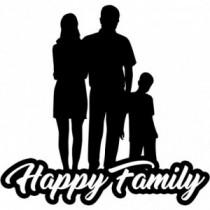 Familien Autoaufkleber BS636