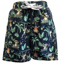 BANZ Badeshorts Navy Jungle