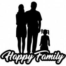 Familien Autoaufkleber BS635