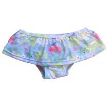 BANZ Badehose Mädchen Blau Seepferdchen