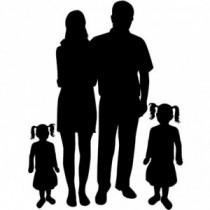 Familien Autoaufkleber BS634