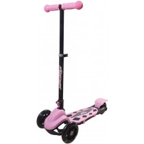 New Sports 3-Wheel Scooter klappbar Pink