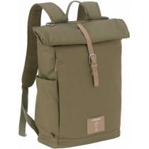 Lässig Wickelrucksack Backpack Rolltop