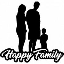 Familien Autoaufkleber BS619