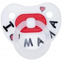 Kuli-Muli Original Dental Nuggi ab 0 Monate I love Mama