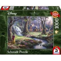 Schmidt Spiele Puzzle Disney, Schneewittchen 1000 Teile