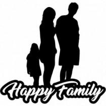 Familien Autoaufkleber BS618