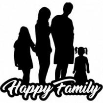 Familien Autoaufkleber BS617