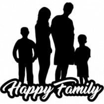 Familien Autoaufkleber BS616