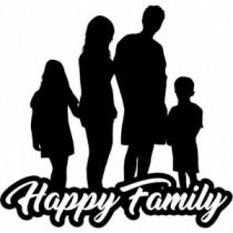 Familien Autoaufkleber BS615