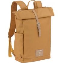Lässig Wickelrucksack Backpack Rolltop Curry