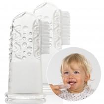 Reer Finger-Zahnbürste Silikon 2 Stück