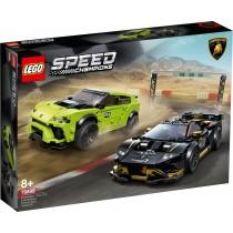 LEGO Speed Champions Lamborghini Urus ST-X & Lamborghini Huracán Super 76899