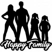 Familien Autoaufkleber BS605