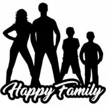Familien Autoaufkleber BS604