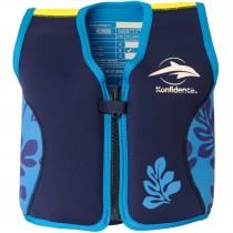 Konfidence Schwimmweste 18-36 Monate Blau Palm