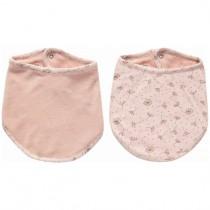 Zewi bébé jou Bandana Dreieckstuch Lätzchen Wish Pink