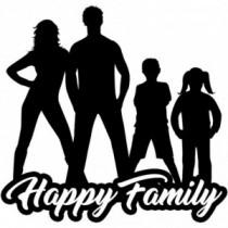 Familien Autoaufkleber BS603