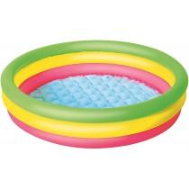 Bestway Planschbecken Summer Set Pool 3-Ringe 102x25cm