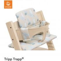 Stokke Tripp Trapp Sitzkissen Birds Blue