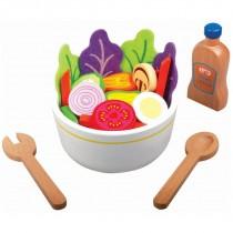 Beeboo Kitchen Salat-Set aus Holz 28 Teile