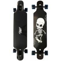 New Sports Longboard Skull ABEC 9