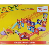 Creathek Magnet Kugelbahn 78 Teile