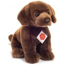 Teddy Hermann Labrador sitzend dunkelbraun 25 cm
