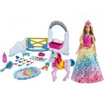 Barbie Dreamtopia Prinzessin mit Einhorn Spielset