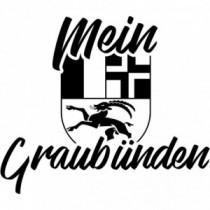 Aufkleber Kanton Graubünden V2