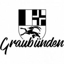 Aufkleber Kanton Graubünden V1