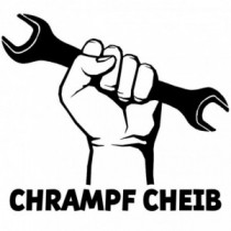 Aufkleber Chrampf Cheib V1