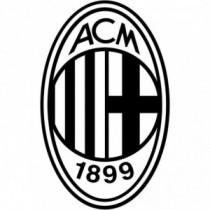 Aufkleber AC Mailand V1