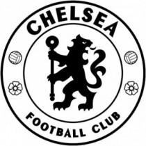 Aufkleber FC Chelsea V1