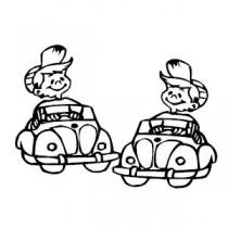 Baby Autoaufkleber 22290