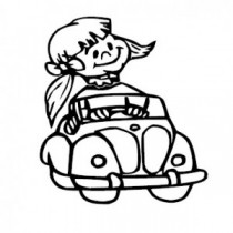 Baby Autoaufkleber 21140