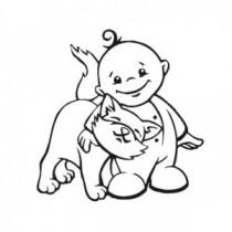 Baby Autoaufkleber 21217