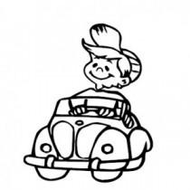 Baby Autoaufkleber 21130