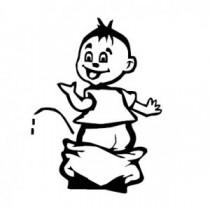 Baby Autoaufkleber 21031