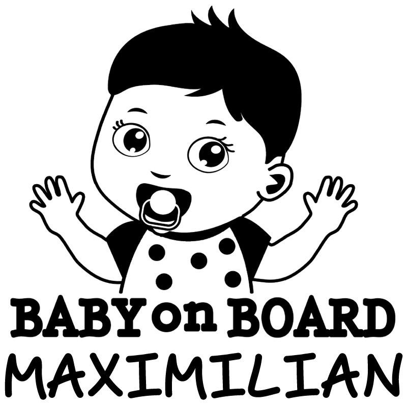 Baby Autoaufkleber BS127