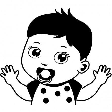 Baby Autoaufkleber BS125
