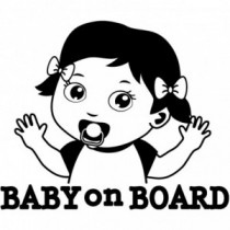 Baby Autoaufkleber BS126