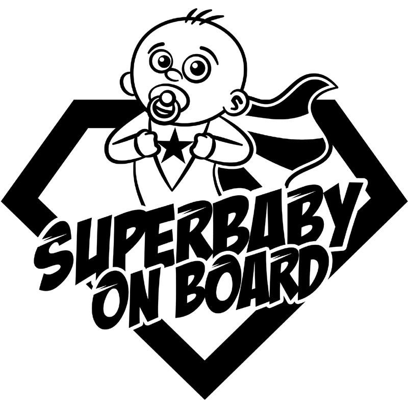 Baby Autoaufkleber BS120