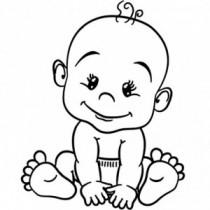 Baby Autoaufkleber BS114